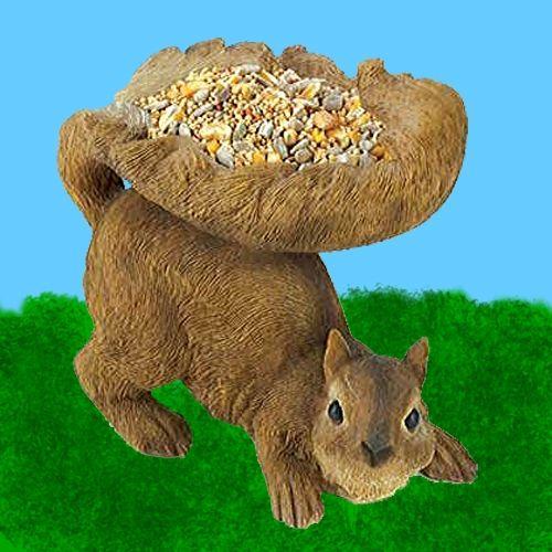 Squirrel Lawn Birdfeeder