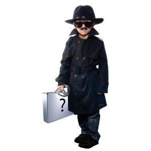 Child Spy/Detective Costume