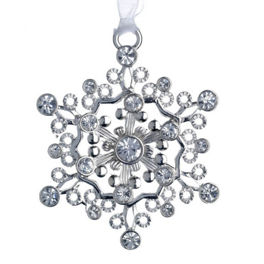 Lunt 2013 Annual Jeweled Snowflake Ornament