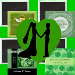 Irish Wedding Magnets
