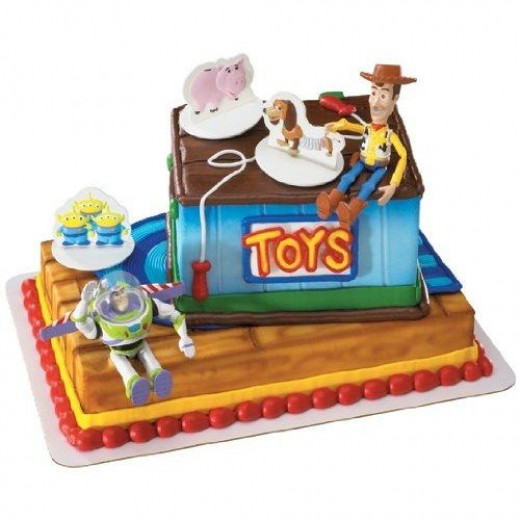 Woody and Buzz Signature Decopac 3D Cake Kit