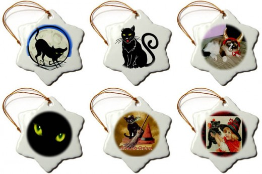 Type in Sandy Mertens Cats Ornaments in the Amazon search bar.