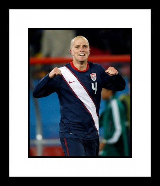 "Michael Bradley (USA) ""2010 at World Cup"" Framed 8"" x 10"" Photograph"