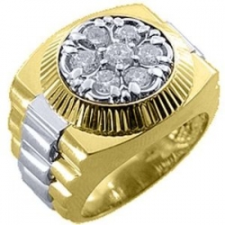 Mens Rolex Ring Two