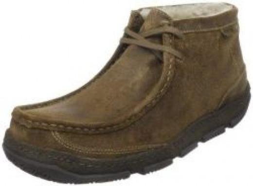 Clarks Natalie Black Leather Mens Shoes