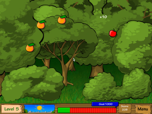 Dairy Dash Mini Game - Collect Fruit