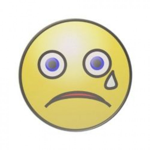 Sad Face Coaster - Funnyjokes Gifts Zazzle