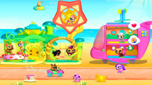 LPS Game for Kindle Fire or Android Devices