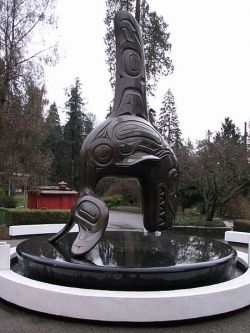 orca king of the sea sculpture