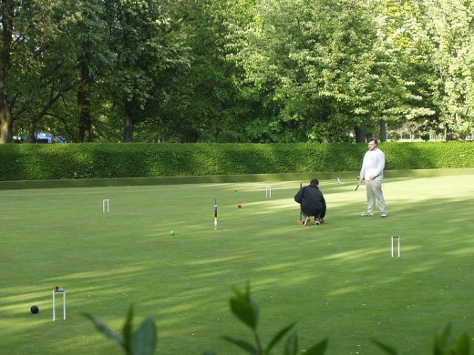 croquet is playes around the world - Scotland