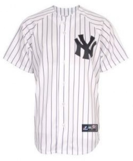 MLB New York Yankees Replica Home Jersey