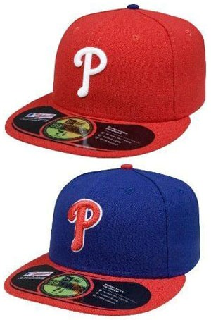 MLB Philadelphia Phillies Authentic On Field Game 59FIFTY Cap