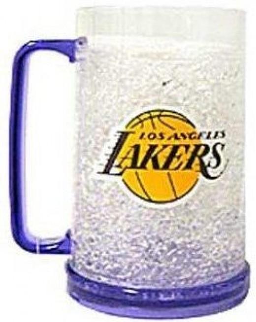 Los Angeles Lakers Crystal Freezer Mug