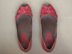 spray painted shoes (before)