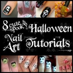 Halloween Nail Art DIY Manicure Tutorials and Design Ideas