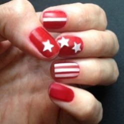 American Flag & USA Nail Art Design Tutorials - DIY Patriotic Manicures
