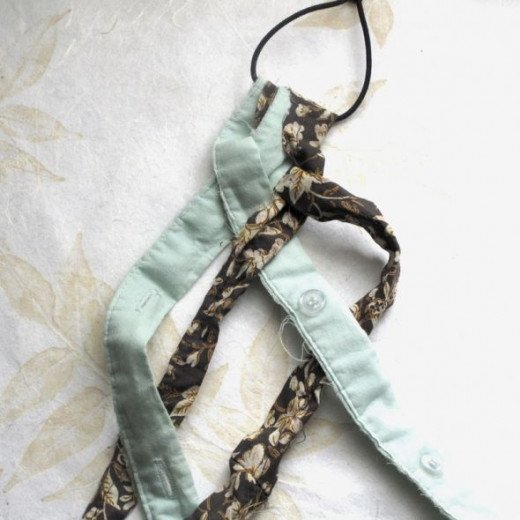 fabric scrap, project, diy, headband, tutorial, make your own