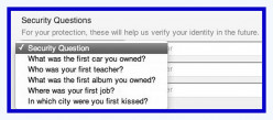 How To Pick Smart Answers To Your Security Questions