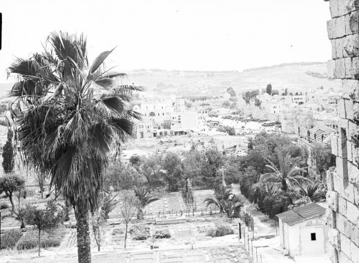 Jerusalem in 1950 (public domain)