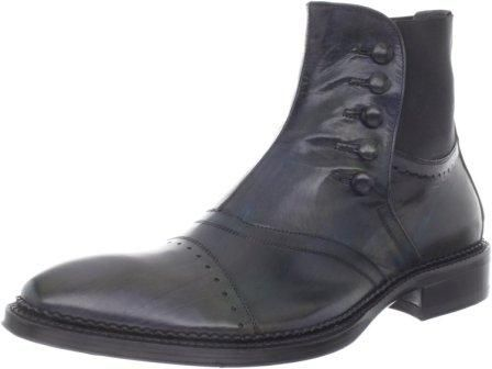 Jo Ghost Men's 1786 Inglese Novul Nero Sporco Boot