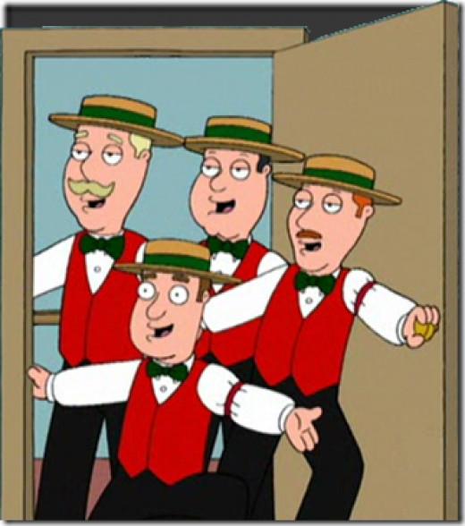 cute little Barbershop quartet