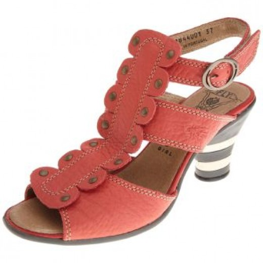 FLY London Women's Prune T-Strap Sandal