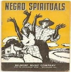 Negro Spirituals record cover