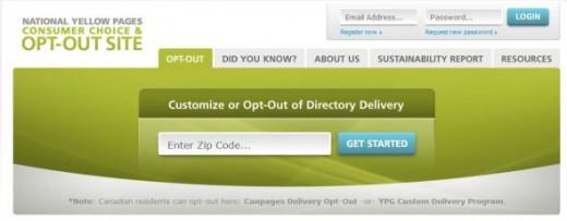 Screen Capture of Web Site
