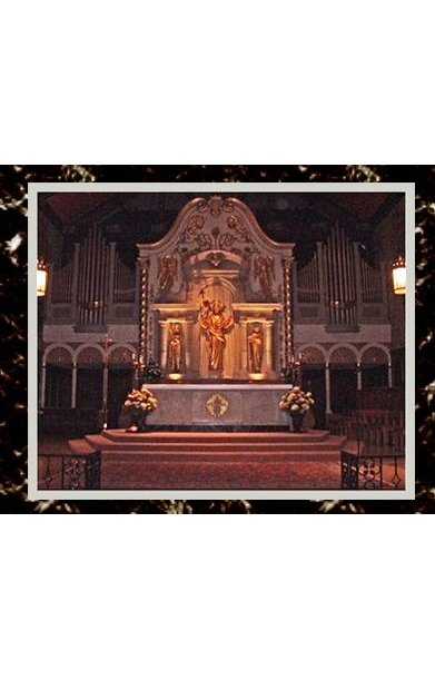Inside The Cathedral Basilica; St. Augustine, FloridaPhoto from my visit.