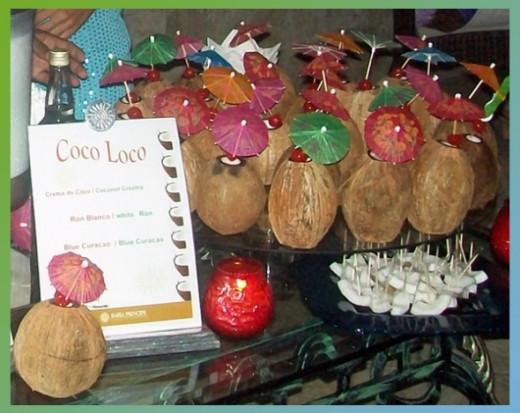 Coco Loco Coconute Driinks