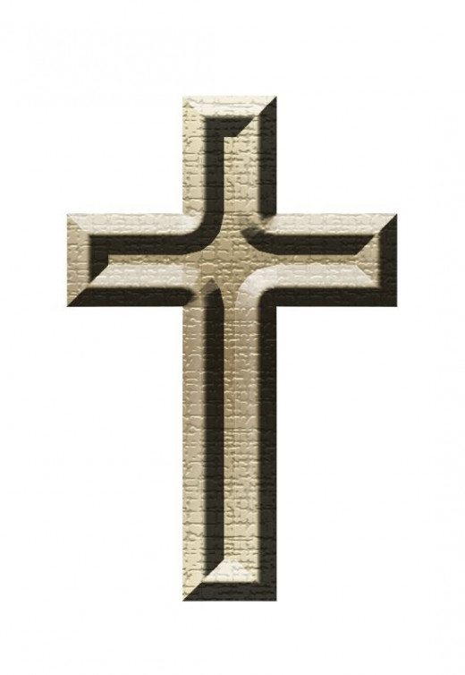 Stone Cross Clipart