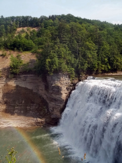 Mid Falls - Letchworth State Park - NY