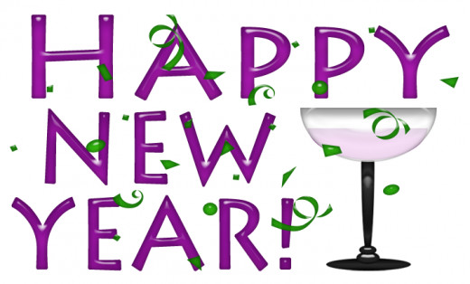 Happy New Year Clip Art 2015
