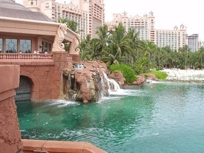 Waterfall - Atlantis - The Bahamas