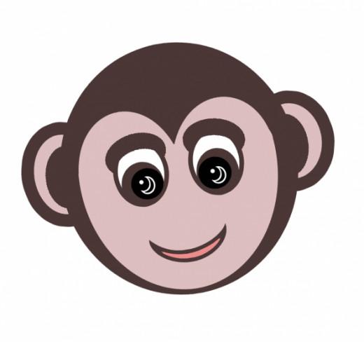 Smiling monkey.
