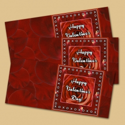 XOXOXO Happy Valentine's Day Printables