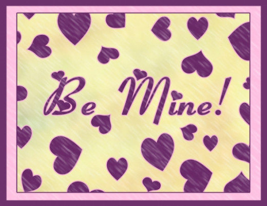 Be Mine Free Valentine's Day Printable
