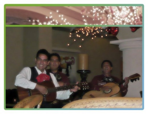 The Live Mariachi Band At El Patio