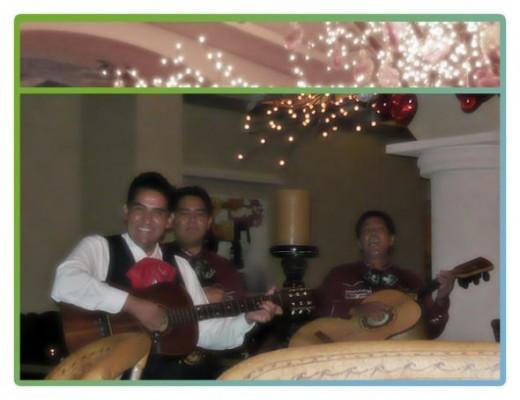 The Live Mariachi Band At El Patio