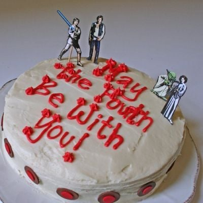 May the Fourth Cake via Pinterest