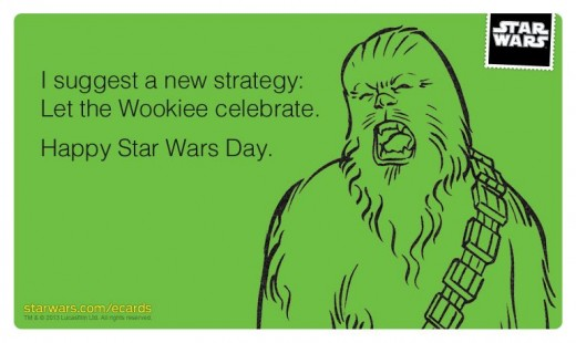 Star Wars Day e-card