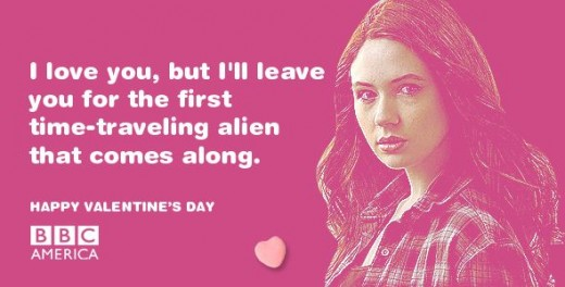Doctor Who Valentine: I love you, but I'll leave you for the first time-traveling alien that comes along.