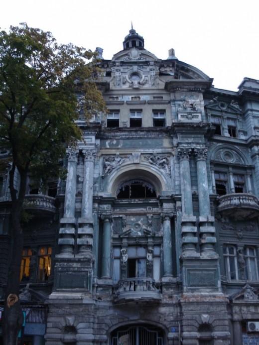 Haunted House in Odessa Ukraine