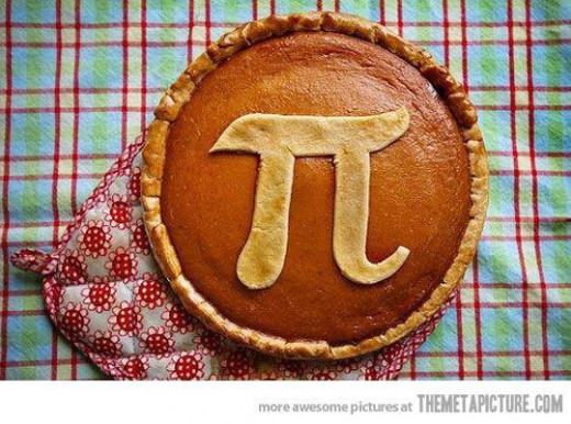 Pumpkin is my favorite kind of pi pie!