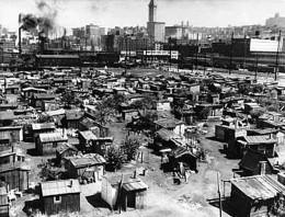 Shantytown in the 1930s