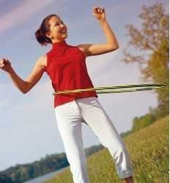 Hooping for Fitness is Exercise for Fun