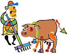 Cartoon Picture of Farm Animals