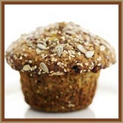 Muffin with Crunchy Topping