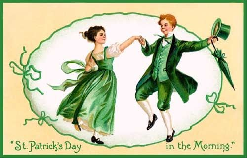 Image of Irish Dancers on St. Patrick's Day
