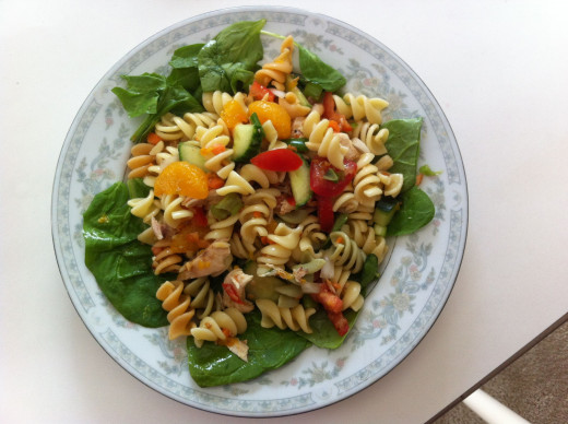 Asian Inspired Pasta Salad